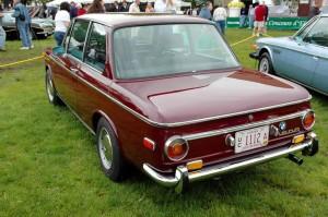1969 BMW 1600 rear