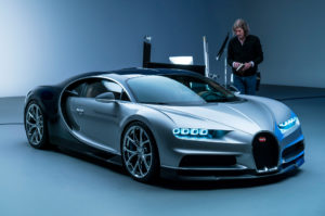 На сн.: 2017 Bugatti Chiron