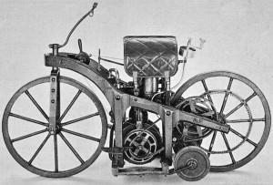 Първият мотоциклет на Даймлер
