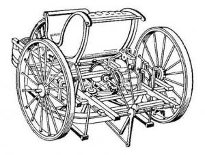 Количката с педали на Кулибин