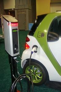 Зареждане на електрически Smart