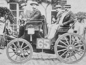 """1894 """"Париж-Руан"""" Peugeot 3hp"""