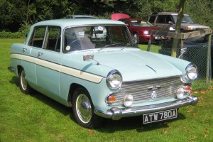 Austin_Cambridge_A60_1963_Castle_Hedingham_2008