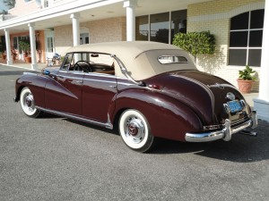1955 Mercedes Benz 300 B burgundy 005