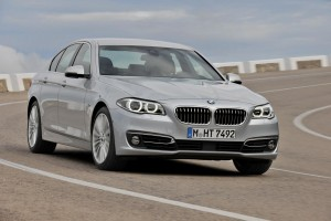 2014-BMW-5-Series-front-three-quarters