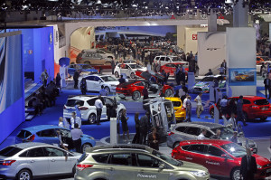 Moscow International Automobile Salon MIAS in Moscow