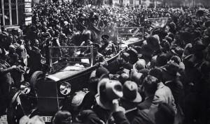 Царят и Йоана на празника на храбростта 6 май 1933 г.