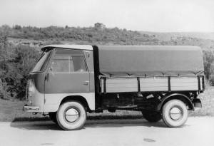 Българско камионче прототип 1963 г.