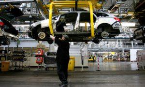 Заводът на General Motors за Vauxhall в Елсмиър Порт в Чешир.  Снимка: Bloomberg