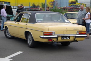 Opel Admiral 2.8 S, Baujahr 1976, 2800 cm³, 6 Zyl., 140 PS, unrestauriert, Bitburg Classic 2012