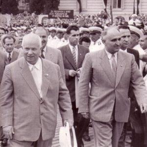 Хрушчов и Живков