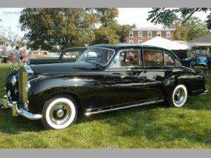 1959 Rolls Royce Silver Wraith-touring-lwb Chapron
