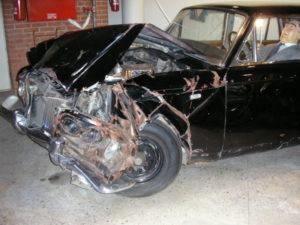 2.Удареният Rolls-Royce Silver Shadow се намира сега в рижски музей. В него има восъчна фигура на Брежнев
