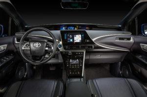 2017-Toyota-Mirai-interior