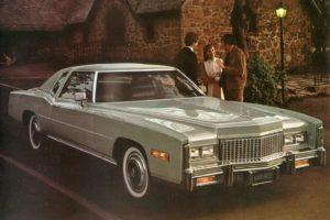"""7.Cadillac Eldorado (1976 г.) с каросерия """"купе"""" бил подарен на Брежнев от Ричард Никсън"""