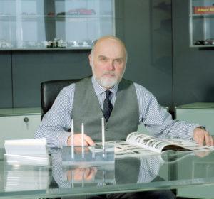 Bruno Sacco, früherer Mercedes-Benz Chef-Designer.