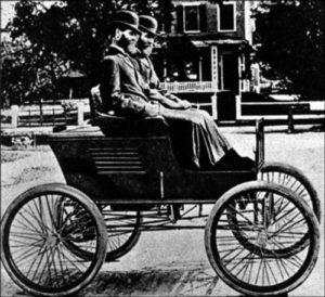Първият държавен паромобил в Гаража на Белия дом