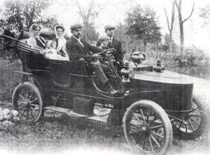 Един от първите паромобили за американския президент