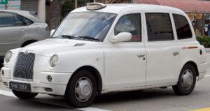London Cab TX4 в Сингапур