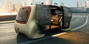 Автономният Volkswagen Cedric