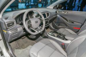 2017 Hyundai Ioniq-Electric cabin
