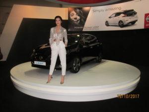 На щанда на Nissan на Автосалон София 2017 сн.: автора