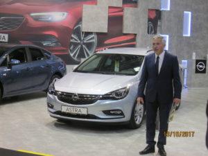 Управителят на Opel за България – г-н Горанчев, отбеляза забележимите увеличения на продажбите