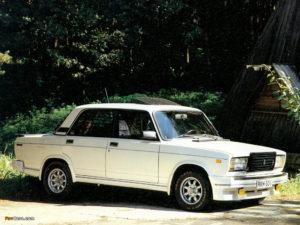 Konela Lada 2107 Turbo 1984–86