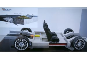EMBATT Structurally Integrated Battery