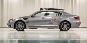 Toyota Lexus-ls 600h Autonomous