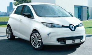 Renault ще удвои максималната мощност на следващото поколение Zoe EV във Флинс, Франция. Настоящият модел е изобразен.