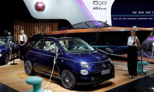 Fiat показа 500 Riva на последното шоу в Париж през 2016 г. Т. г. марката ще се фокусира върху други маркетингови събития.