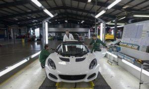 Geely може да наеме още инженери за Lotus и да добави нова фабрика