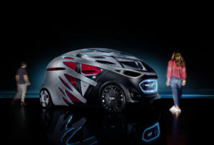 Mercedes-Benz Vision URBANETIC People-Mover-Modul  Mercedes-Benz Vision URBANETIC people-mover module