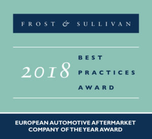 2018 European Automotive Aftermarket Company of the Year Award