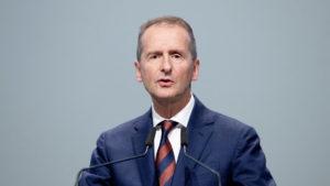 Д-р Херберт Дийс на годишното общо събрание на Volkswagen Group в Берлин