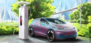 VW-charging-electric-car