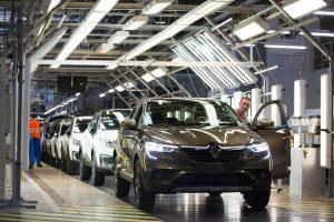 Завод Renault в Москва. Bloomberg