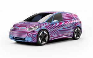 Тийзър за 2020 Volkswagen ID 3, който  ще дебютира във Франкфурт 2019
