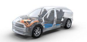 Обща платформа за електрически SUV
