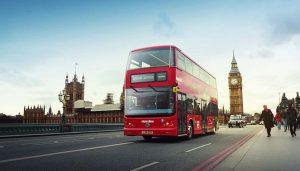 Лондонски двуетажен автобус BYD