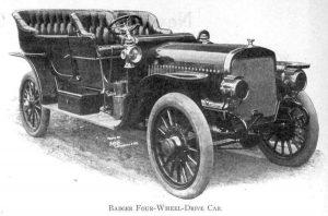 Автомобилът Badger със задвижване на четирите колела.