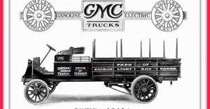 Реклама на GMC от 1912 г.