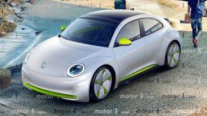 Volkswage IID Beetle renders