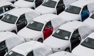 Коли Audi готови за износ в Барселона  Bloomberg