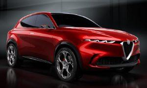 Alfa Romeo Tonale, показан тук като концепция, може да бъде строен във фабриката на FCA в Tychy, Полша