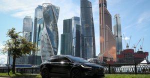 Електрическо превозно средство Tesla Model X е показано на тази илюстрация, направена в Москва, Русия, 23 юли 2020 г. REUTERS