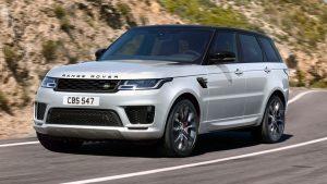 Показва се текущият Land Rover Range Rover Sport. Новото поколение ще добави изцяло електрическо задвижване, за да се конкурира с Bentley и Tesla.