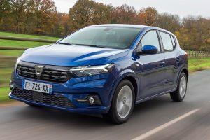 Третото поколение Dacia Sandero - с пазарен дял през януари от 5,7%, което го направи номер 2 най-продавания модел във Франция след модела Peugeot 208