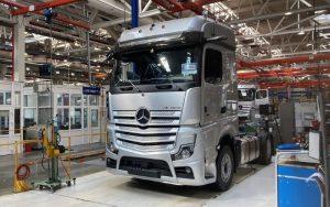 Daimler Kamaz Rus Mercedes-Benz Actros
